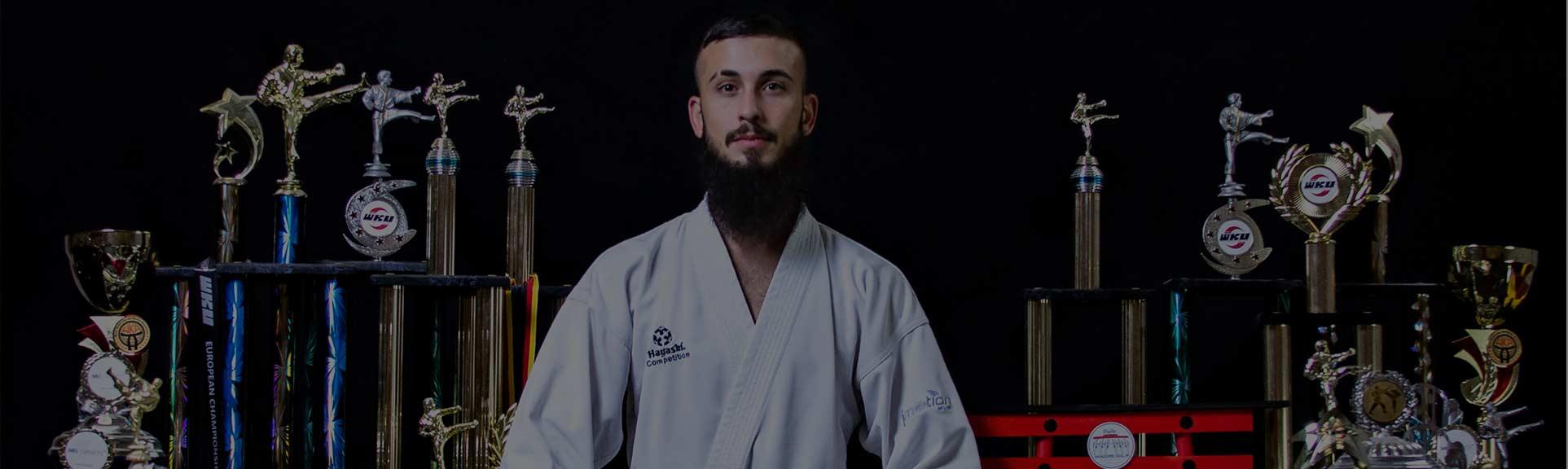 Karate Weltmeister Nikolai Pourraki